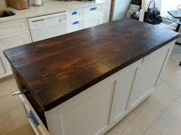 Reclaimed Kitchen Islands Reclaimed Wood Countertop Dark Walnut I Want To Use My Attic Floor