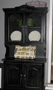 china cabinet china cabinet black hutch buffet oak and wooden