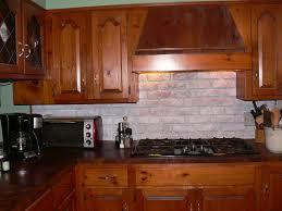 Scarface Home Decor 28 Faux Brick Backsplash In Kitchen Remodelaholic Tiny