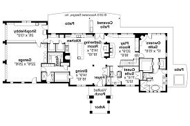 free mediterranean house floor plans house design plans