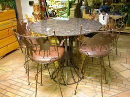 bar stools marvelous tall dining room table industrial metal bar