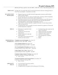 Nursing Student Sample Resume by Resume Template For Nursing Student
