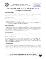 Security Guard Resume Fire Department Resume Resume Cv Cover Letter