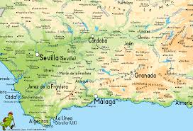Spain Political Map by Andalucia Map Pictures And Information Map Of Spain Pictures And