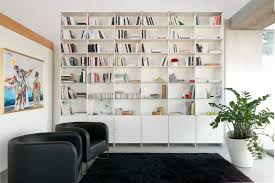Modern Contemporary Bookshelves by Contemporary Bookcase Mdf Lacquered Mdf Infinity Fitting
