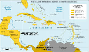 Map Of South America And Caribbean by Captaincy General Of Guatemala Wikipedia