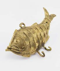 Brass Home Decor by Brass Made Fish Key Chain Holder Classystreet Com