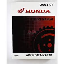 honda aquatrax f12 f12x service and shop manual 61hw101 jet