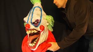 big top oversized killer clown halloween mask youtube