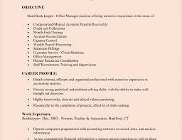 Sample Bookkeeping Resume by Bookkeeping Resume Haadyaooverbayresort Com