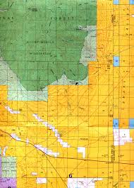 Colorado Unit Map by Buy And Find Nevada Maps Bureau Of Land Management Hunting Units