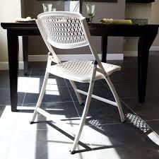 Mesh Patio Chair Amazon Com Mity Lite Flex One Folding Chair White 4 Pack