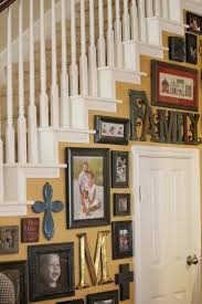 How To Decorate Walls by 50 Creative Staircase Wall Decorating Ideas Art Frames Stairs