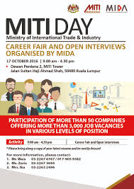 Job Resume Malaysia by Mida Malaysian Investment Development Authority