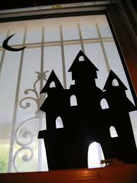 Printable Halloween Decorations Scary by How To Make Halloween Window Silhouettes How Tos Diy