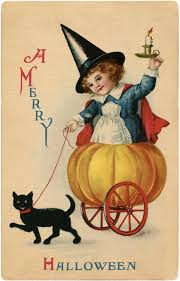 13 more vintage halloween images that are free for you to use