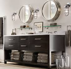 Bathroom Combined Vanity Units by Tremendous Coastal Cottage Bathroom Vanities With Black Oak Vanity