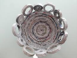 Recycle Home Decor Ideas Diy Home Decoration Recycled Old Newspaper Youtube