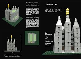Salt Lake Temple Floor Plan by Temple Bricks Lds Lego R Temples And Lds Themed Building Sets