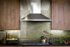 10 classic kitchen backsplash ideas that will impress your guests awesome vertical grey mosaic kitchen backsplash tiles stainless chimney symmetrical upper wooden cabinets storage dark