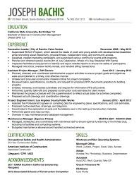 Construction Management Resume Examples by Examples Of Resume Titles