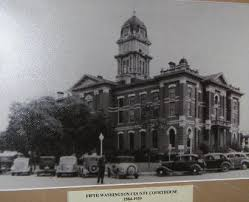 Courthouse, Brenham, Texas