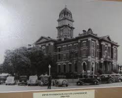 Courthouse, Brenham, Texas