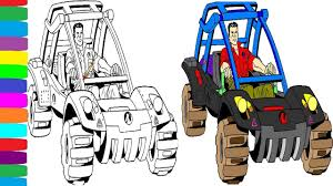 action man coloring pages book cars colouring learn colors videos