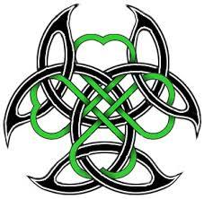 Celtic Clover Armband