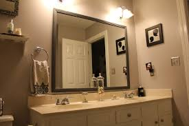 framing bathroom mirror ideas with is a fun creative and cheap