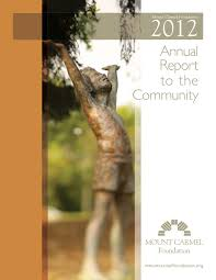 Jill Sharp Graham Mcquet by 2012 Mount Carmel Foundation Annual Report By Mount Carmel Health