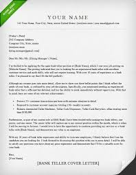 Resume Sample For Human Resource Position by Bank Teller Cover Letter Sample Resume Genius