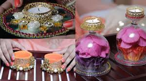 Diwali Decoration In Home 3 Diy Diyas To Light Up Your House Youtube