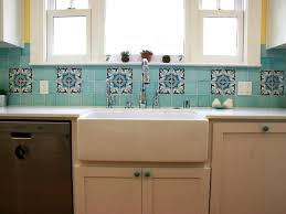 1950 Kitchen Cabinets Ceramic Tile Backsplashes Pictures Ideas U0026 Tips From Hgtv Hgtv