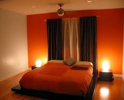 bedrooms unique bedroom colors orange the modern home decor