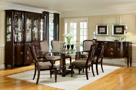glass dining room furniture pleasing decoration ideas dinning room