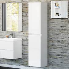 tall corner bathroom cabinet home design ideas and pictures