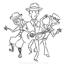 steam powered giraffe robut coloring page by codibear on deviantart