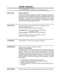 Career Goals Examples For Resume by Best 25 Police Officer Resume Ideas On Pinterest Commonly Asked