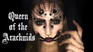 queen of arachnids u0027 spider makeup tutorial youtube