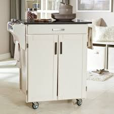 inimitable rolling island for small kitchen with square bar