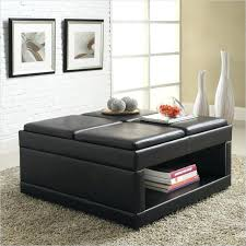 Large Storage Ottoman Coffee Table by Ottoman Tray Table Ottoman Coffee Table Storage Ottoman With