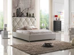 Best Bedroom Furniture Images On Pinterest Bedroom Modern - White tufted leather bedroom set
