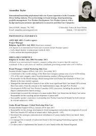 comprehensive resume sample for nurses amandine taylor cv