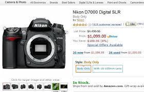amazon black friday deals nikon camera accessories nikon d7000 100 off and nikon d5100 200 off at amazon com