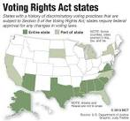 Supreme Court reviews whether parts of 1965 Voting Rights Act are ...