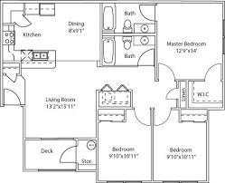 3 Bedroom Apartment Floor Plan West Haven Apartments Floor Plans Settlers Landing Apartments