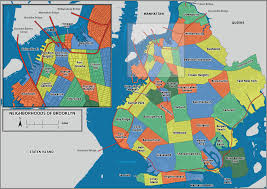 Brooklyn New York Map by A History Of The Geography Of New York City