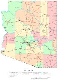 County Map Of Colorado Arizona County Map Arizona Map