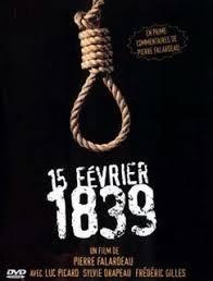 15 Février 1839 affiche